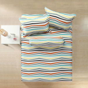 LINOTELA SET SPREI STRIPES 200X200X35 CM JTY220