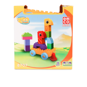 EMCO BLOX ZOO TIME ANIMAL WAGON