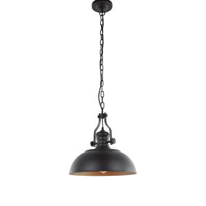 SPAGO LAMPU GANTUNG HIAS 41X110 CM - COKELAT / GOLD