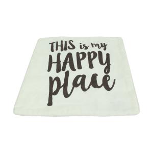 SARUNG BANTAL SOFA – HAPPY PLACE QUOTE