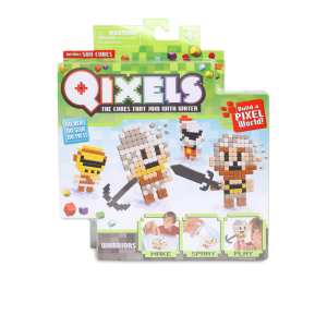 QIXELS SET PERMAINAN SUSUN KUBUS WARRIORS 500 PCS (REFILL)