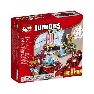LEGO JUNIORS IRON MAN VS LOKI 10721