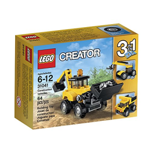 LEGO CREATOR 3IN1 CONSTRUCTION VEHICLES 31041