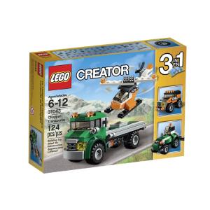 LEGO CREATOR 3IN1 CHOPPER TRANSPORTER 31043