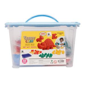 PASO SET SANDY CLAY DENGAN BOX PENYIMPANAN 3 KG