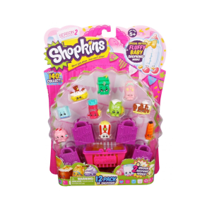 SHOPKINS S2 PLAYSET 12 PACK