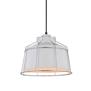 COLE LAMPU GANTUNG HIAS 30X100 CM - PUTIH