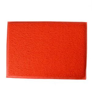 KESET PINTU PVC 80X130CM - MERAH