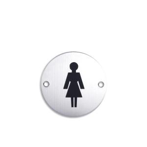 K-LOCK SIGN PLATE LADIES