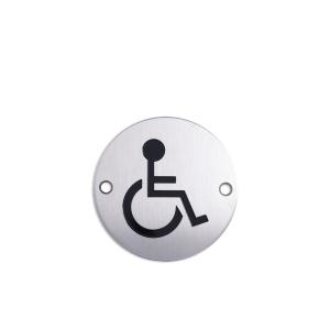 K-LOCK SIGN LABEL DIFABEL