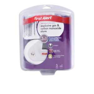 FIRST ALERT ALARM DETEKTOR GAS 3 IN 1