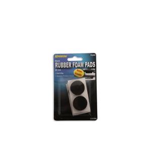 KRISBOW BANTALAN KARET BUSA 2,8 CM 6 PCS - HITAM