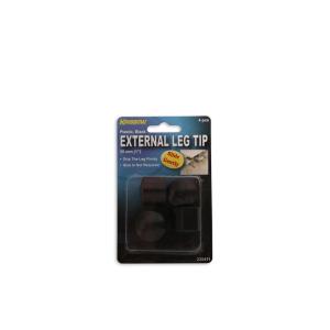 KRISBOW BANTALAN PLASTIK MEJA DAN KURSI 2,5 CM - 4 PCS