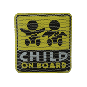 LAPTON STIKER SAFETY SIGN CHILD ON BOARD
