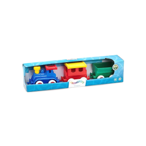 VIKING TOYS MAXI TRAIN SET IN GIFT BOX