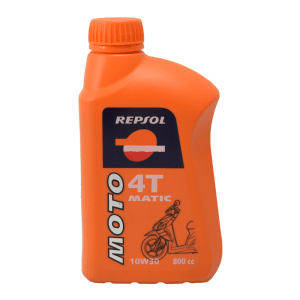 REPSOL MOTO MATIC OLI MESIN 10W30 800 ML