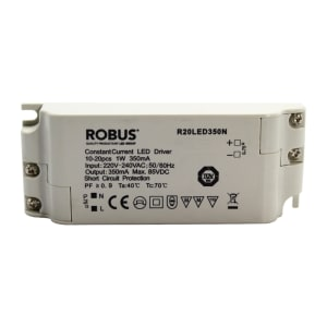 LED DRIVER TRANSFORMER CONSTANT 20W 350MA