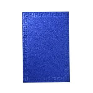 KESET PVC MOTIF 60X90 CM - BIRU