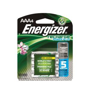 ENERGIZER RECHARGE POWER PLUS BATERAI RECHARGEABLE AAA 4 PCS