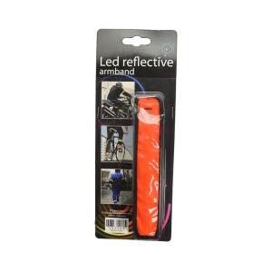 LED REFLECTIVE ARMBAND - ORANYE