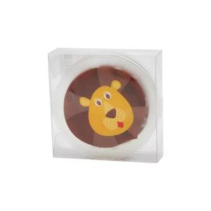 SET ALAS BATH TUB GAMBAR BERUANG PVC SMALL - COKELAT