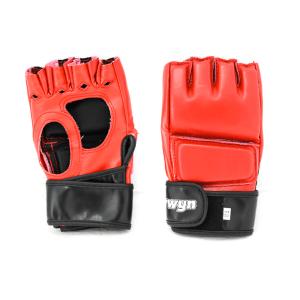 SARUNG TANGAN MMA BQ3102 UKURAN S/M - MERAH HITAM