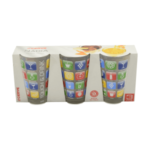 CERVE SET GELAS 310 ML 3 PCS