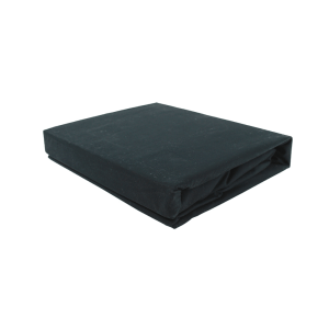 SEPRAI FITTED SHEET 200X200+35CM - HITAM