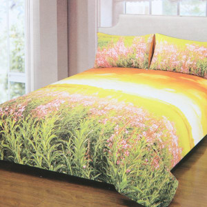 SET DUVET COVER KATUN MOTIF SUNSET 210X210 CM