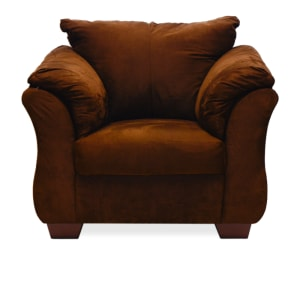 ASHLEY DARCY SOFA 1 DUDUKAN - COKELAT TUA