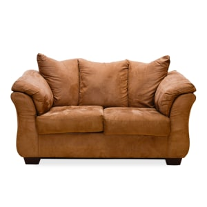 ASHLEY DARCY SOFA 2 DUDUKAN - COKELAT