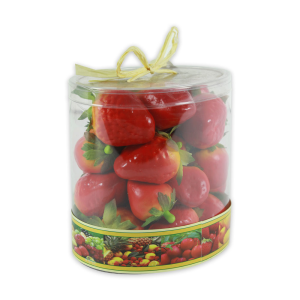 STRAWBERRY IN TUBE ARTIFISIAL - MERAH