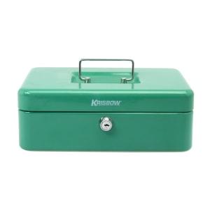 KRISBOW CASH BOX 10 INCH - HIJAU