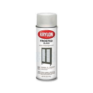 KRYLON FROSTED GLASS CAT SEMPROT - PUTIH