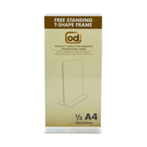 ODI SIGN HOLDER ACRYLIC VERTIKAL T 1/3 A4