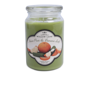 CANDLE LITE ASIAN PEAR AND BANANA LEAF 623 GR