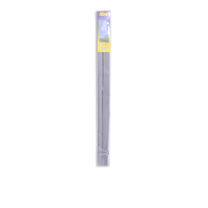 KRIS TIRAI JENDELA PVC 120X220CM – SILVER