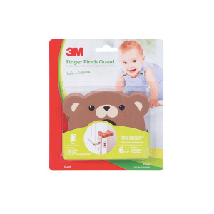 3M FINGER PINCH GUARD BEAR - COKELAT