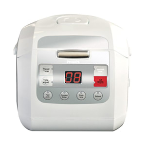 PHILIPS FUZZY LOGIC RICE COOKER HD3030