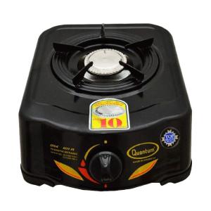 QUANTUM KOMPOR GAS 1 TUNGKU QGC-101R - HITAM
