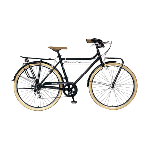 LONDON TAXI SEPEDA CROSS BIKE M700C - HITAM