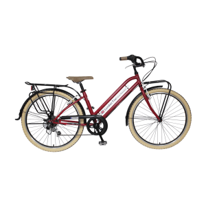 LONDON TAXI SEPEDA CROSS BIKE L26 - MERAH
