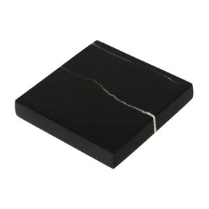 GLERRY HOME DECOR SQUARE BLACK ZIRCON MARBLE 20X2CM