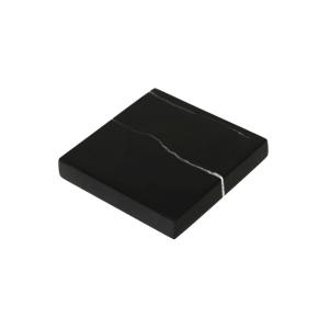 GLERRY HOME DECOR SQUARE BLACK ZIRCON MARBLE 12X2CM