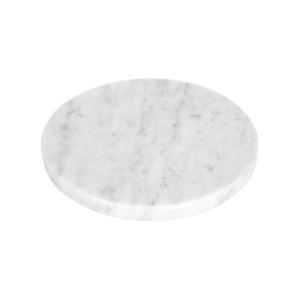 GLERRY HOME DECOR ROUND WHITE MOONSTONE MARBLE DIAMETER 20CM