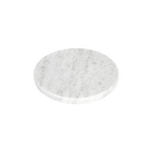 GLERRY HOME DECOR ROUND WHITE MOONSTONE MARBLE DIAMETER 12CM