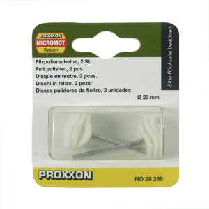 PROXXON SET FELT POLISHER NO 28 299 2 PCS - PUTIH
