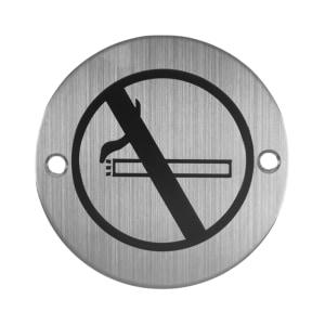 K-LOCK SIGN PLATE NO SMOKING