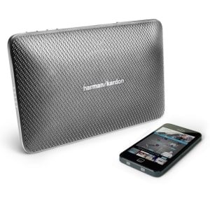 HARMAN KARDON ESQUIRE II SPEAKER BLUETOOTH PORTABEL - ABU ABU