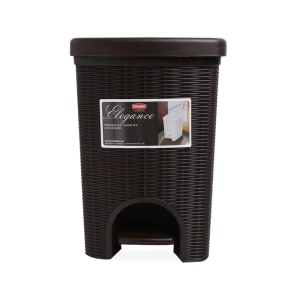 STEFANPLAST ELEGANCE TEMPAT SAMPAH PEDAL 20 LTR - COKELAT TUA